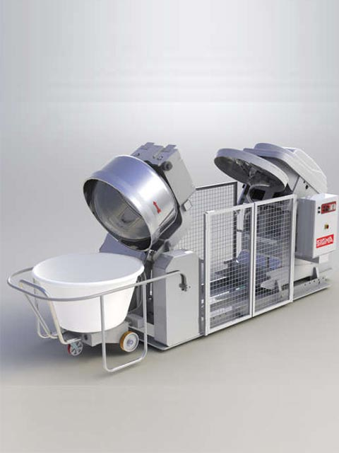 Automated mixing system BOWL ADAPTER