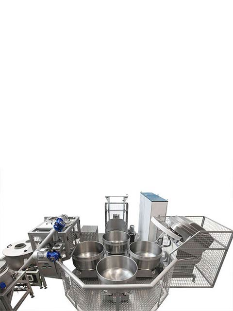 Automated mixing system CAROSELLO