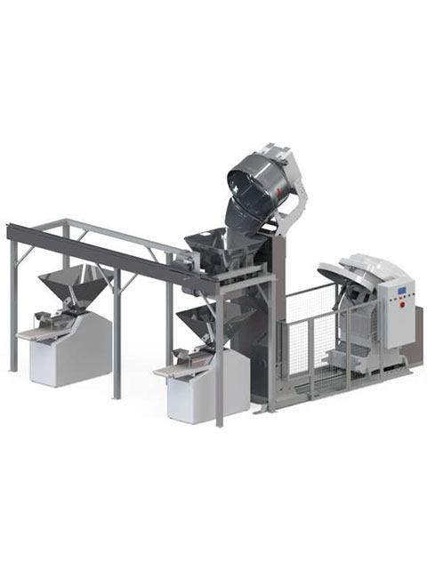 Automated mixing system MULTILINES HOPPER MIX