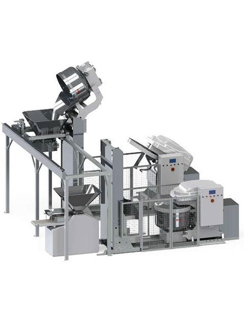 Automated mixing system MULTIMIX HOPPER