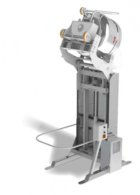 Spiral mixer lifters MACISTE