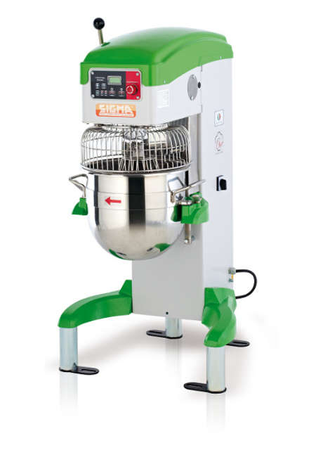 Planetary mixers with electronic speed variator CHEF