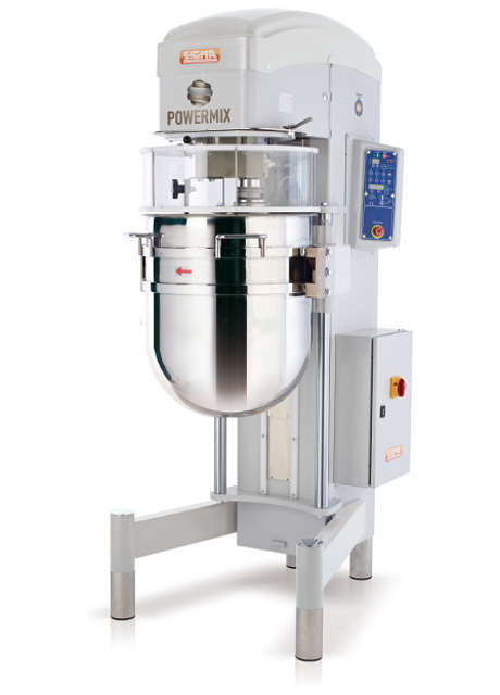 Automatic planetary mixers with total disengagement POWREMIX