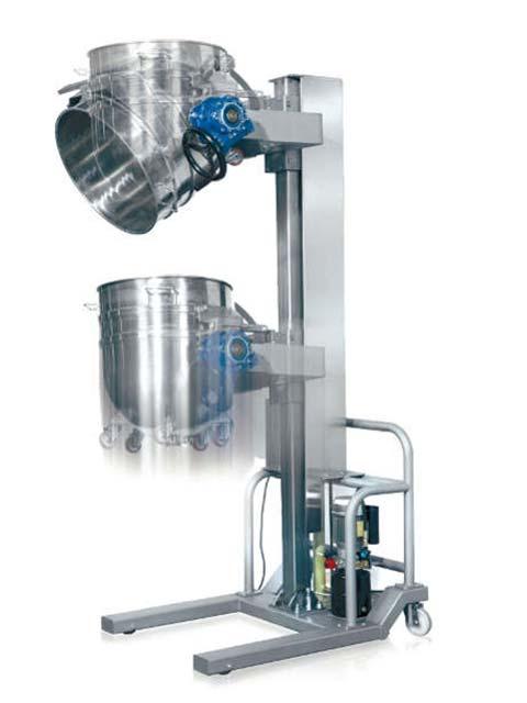 Planetary mixer lifter