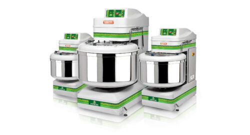 Spiral mixers with fixed bowl GREEN LINE