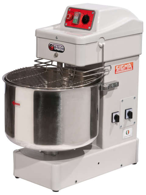 Bench spiral mixers with fixed bowl TAURO