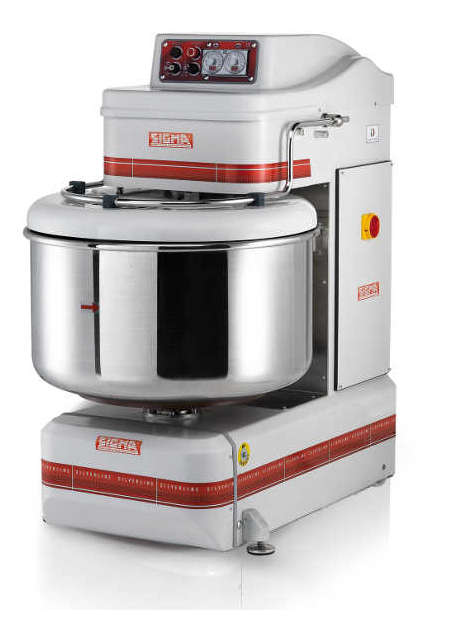 Spiral mixers with removable bowl SILVER (SL)